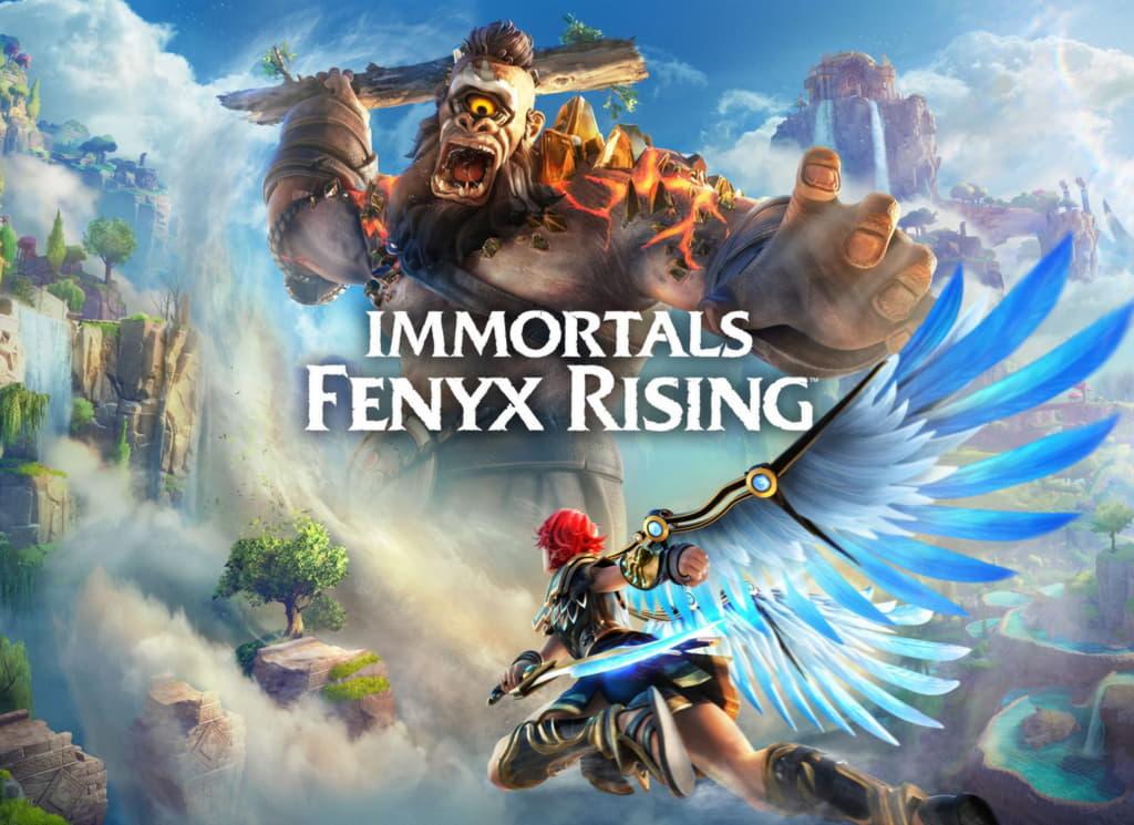 Обложка Immortals Fenyx Rising